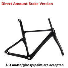 Direct Mount Brake carbon road bike frame carbon fibre cycling race bicycle ROAD bike frame(China)