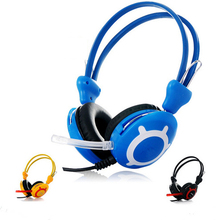 20176 New Good Quality Stereo Fashion Game Gaming Music Headphones Headset with Mic for PC Computer Gamer Skype(China)