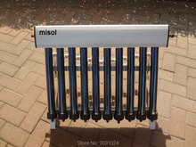 10 Evacuated Tubes, Solar Collector of Solar Hot Water Heater, Vacuum Tubes, new(China)
