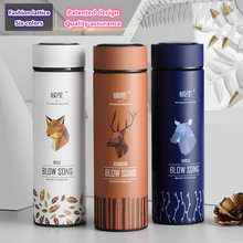 2017 New fashion Brand BLOW SONG creative design thermal mug heat water cup super insulated vacuum flasks suit for tea milk