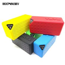 MXPOKWV X3 Wireless Bluetooth Speaker Loudspeakers Mini Music Box SubwooferWith Mic for phone computer support fm u disk(China)