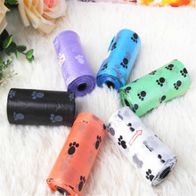 Beautiful Degradable Dog Pet Poop Bags Cat Dog Waste Bag Print Design Eco-friendly Pick Up Clean Bag Car Outdoor Travel