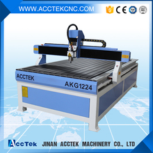 TBI ball screw wood working cnc router machine AKG1224 for main door designs(China)