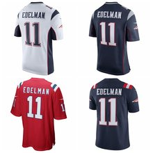 Men's Tom Brady Julian Edelman Rob Gronkowski Game and Rush jerseys(China)