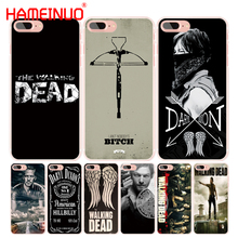 HAMEINUO Daryl Dixon Walking Dead norman cell phone Cover case for iphone 6 4 4s 5 5s SE 5c 6 6s 7 8 X plus(China)