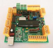 1 pcs Integrated Circuit 4 Axis USB CNC Controller Interface Board CNCUSB MK1 USBCNC 2.1 Substitute MACH3+DVD Disk(China)