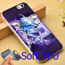 Puck Dota 2 Hard TPU Phone Case for iPhone 5S 5 SE 5C 4 4S 6 6S 7 Plus Cover ( Soft TPU / Plastic for Choice )