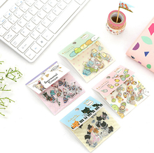 80 pcs/pack Cute Sumikko Gurashi Cat Sentimental Circus Stickers Diary Label Stickers Decorative Scrapbooking DIY Stickers(China)