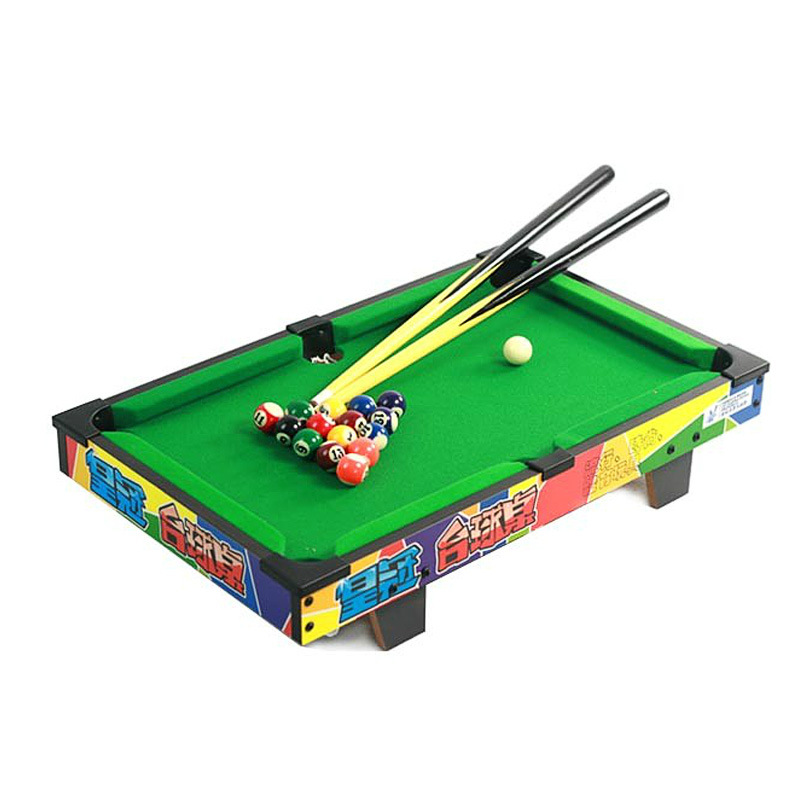 NEW 52*33*8 CM Wood Snooker Billiard Table Boxed Mini Pool Ball Snooker Desktop Table Game(China (Mainland))