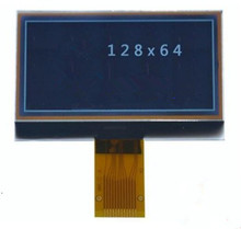 1.5 inch 12P SPI 12864 STN COG LCD MP3 Screen with White Backlight UC1705 Drive IC(China)