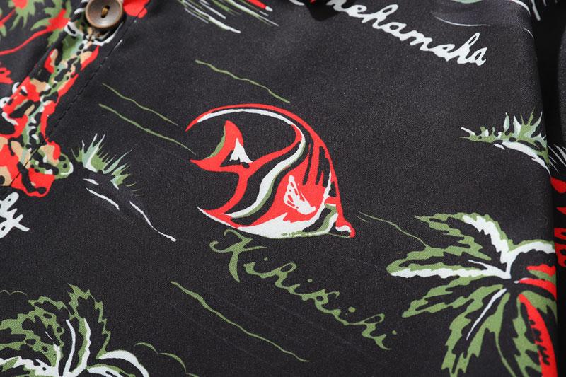 Palm Tree Hawaiian Beach Shirts 6