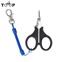 Stainless Steel Fishing Pliers Scissors Fishing Tackle Fish Hook Remover Fishing Line Cutter Tools with Bag