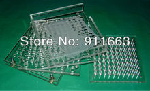 (00#,0#,1#,2#,3#,4# empty capsule used)100 cavity, manual capsule filling machine,capsule filler plus tamping tool