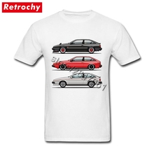 Isuzu T Shirt Men's Vintage Looking Old Car T-shirt Tops Crew Neck Sale Brand Tee Shirt Valentines gifts(China)