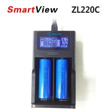 Smart LCD USB Battery Charger for 26650 18650 14500 16340 lithium battery 3.7V 12V 24V Charger for AA AAA Batteries pk um20 D4(China)