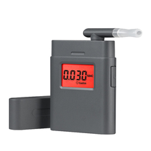 Kebidumei Professional Police Digital Breath Alcohol Tester Digital LCD Alert Breathalyzer Alcohol Analyzer High Sensitivity(China)