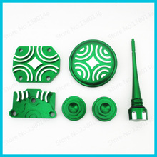 Green Engine Dress Up Kit For Lifan YX Zongshen 110cc 125cc Pit Dirt Bike ATV Quad Motorcycle Motocross(China)