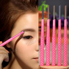 Waterproof Women Girl Eyebrow Pencil Pen Eye Brow Liner Powder Shaper Makeup Tool(China)