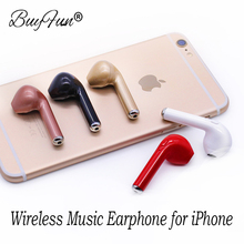 Wireless Earphone Bluetooth Headset HBQ I7 TWS In-Ear Invisible Music Earbud With Mic For Apple iPhone 6 7 8 Samsung Xiaomi Mi