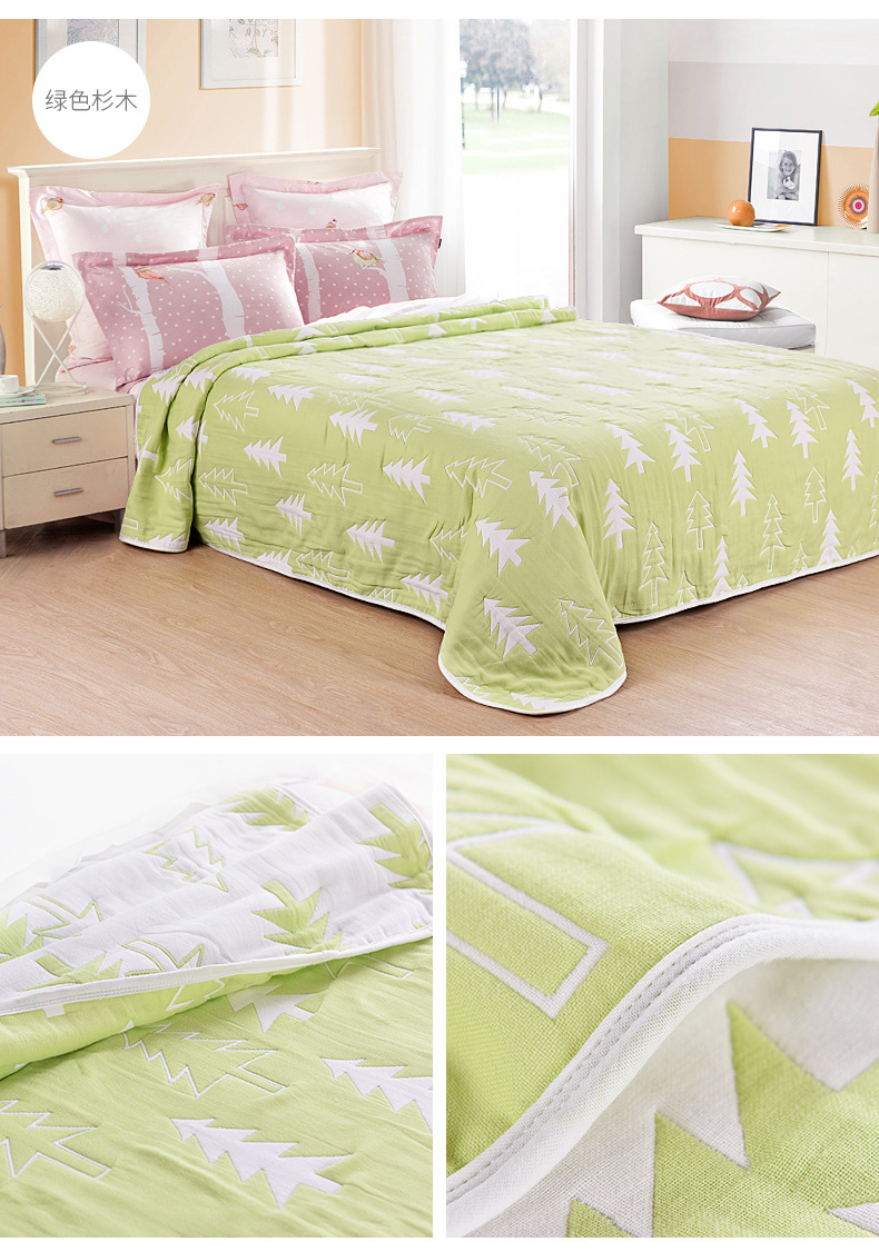 6 layers towel blanket summer quilt 100 cotton blanket on the bed super soft breathable mifala queen king size blanket free - King Size Blanket