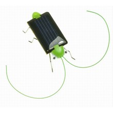Magic Mini Creative Plastic Solar Energy Powered Grasshopper Toys
