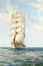 100% cotton canvas oil painting core Sailing Boat F(China)