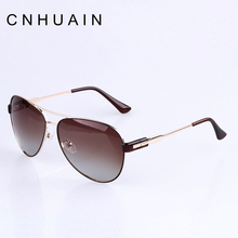CNHUAIN Women's Glasses Female Famous Brand Polarized Sunglasses Woman Fashion Luxury Designer Sun Glasses For Women Oculos(China)