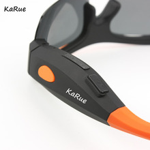 KaRUE Fasion Sunglasses Camera HD 1080P Polarized Lens for Outdoor Action Sport Video DV DVR Mini Camera Glasses Camcorders(China)