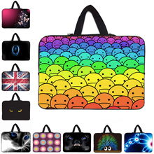 Laptop Cases 10.1 inch Fashion Soft Tablet Bag 15.6 14 17 12 13 7 10 7.7 15 inch Liner Sleeve Notebook Pouch Bags For Toshiba HP