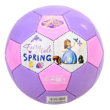 DISNEY size 2# Kids Football Indoor Outdoor Soccer Ball Activity Frozen anna elsa Princess Children Exercise Gift football balls(China)
