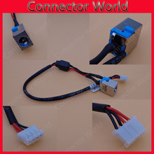 DC Power Jack With Cable 65W For ACER E1-521 E1-531 E1-571 E1-571g Brand And Original 90 watt Laptop Socket connector harness(China)