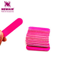 100pcs 50*13MM Mini Pink Nail File Block Buffer For Manicure UV Gel Polisher Files Manicure Buffers Tips Nail Tools Accessories(China)