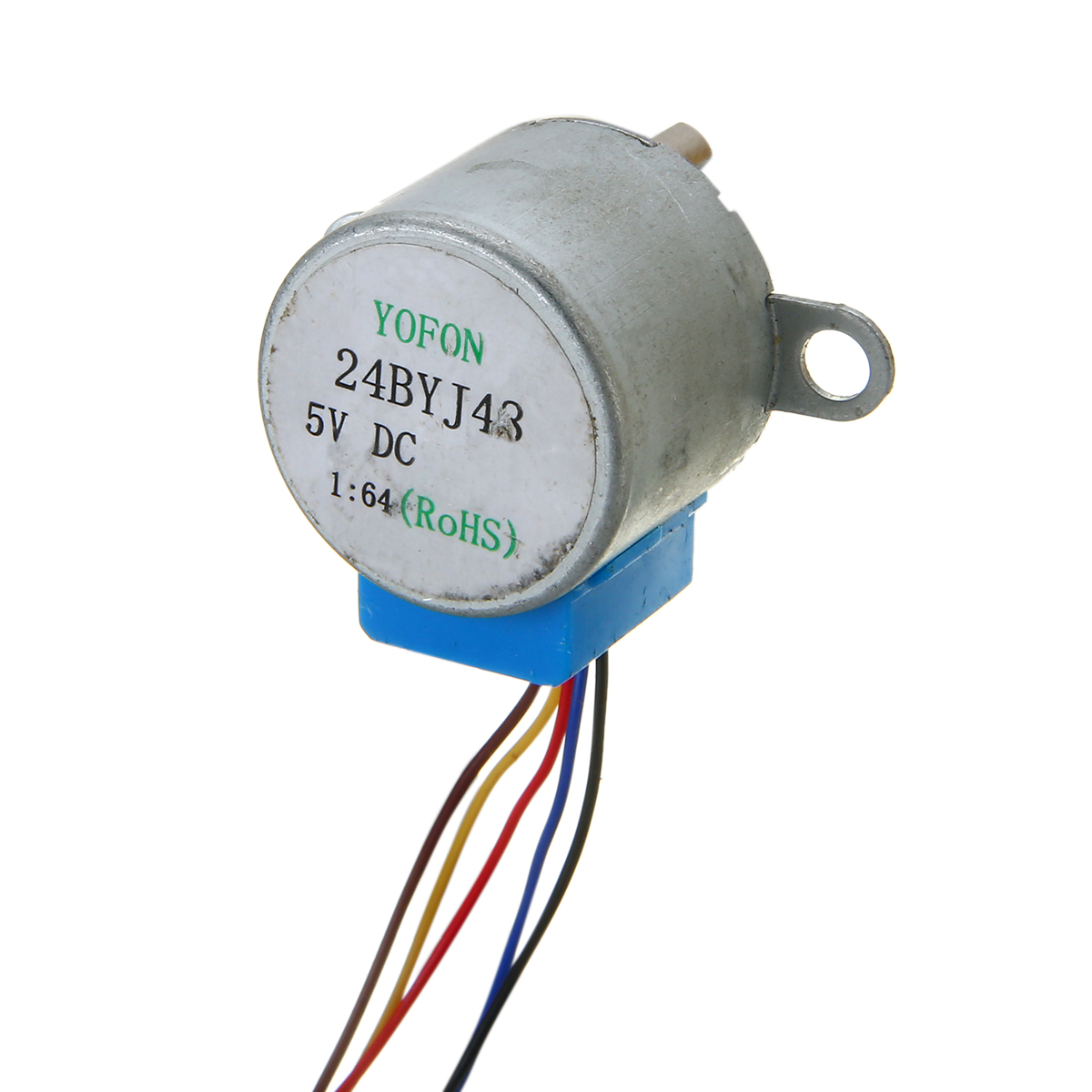 24BYJ48 Gear Stepper Motor Micro DC 5V Reduction Stepper Motor 4 Phase 5 Wire Stepper Motor Reduction Ratio 1/64 For Arduino