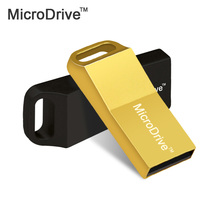 Metal pen drive waterproof usb flash drive 4G 8G 16G 32G 64G pendrive Silver/Golden flash card usb 2.0 U disk flash memory stick