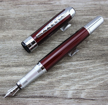 Unique Desigh-High Quality URBAN SERIES Dark red Fountain Pen Stationery Executive Writing ink Pens(China)