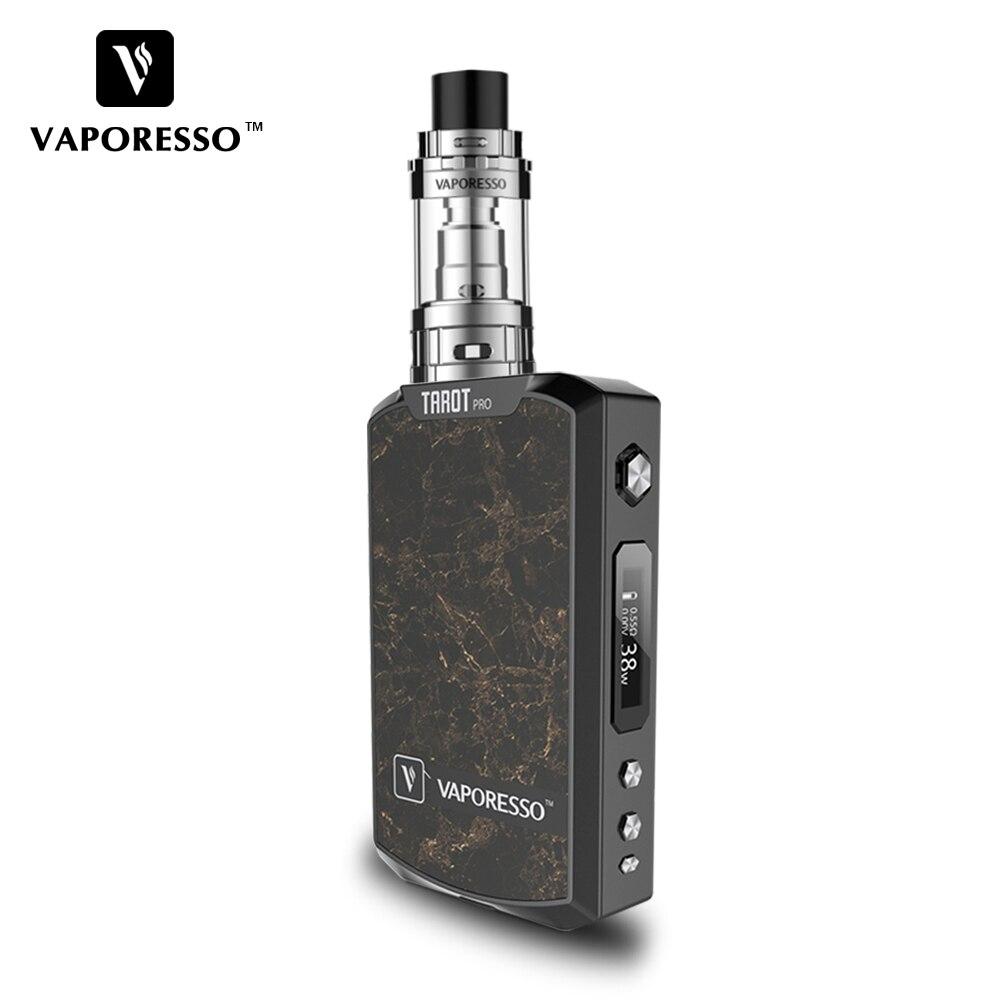 Original Vaporesso TAROT PRO 160W VTC Kit TAROT PRO Vape Box MOD and GEMINI 3ml Tank VTCVTVWCCTTCR Electronic Cigarette Kit (2)