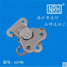 NRH 6319B stainless steel Rotary butterfly latch Factory direct sale high quality pair of cam latch for flight case road case(China)