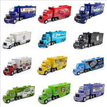 Disney Pixar Cars 27 Styles Mark Truck Lightning Mcqueen The King 1:55 Diecast Metal Alloy And Plastic Toys Car For Kid Gift(China)