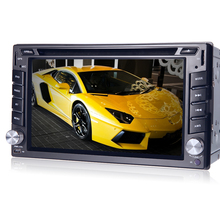 "Autoradio Touch Screen car dvd player Without GPS Monit USB SD Bluetooth FM 6.2"" 2din in dash TFT support rear view camera input"