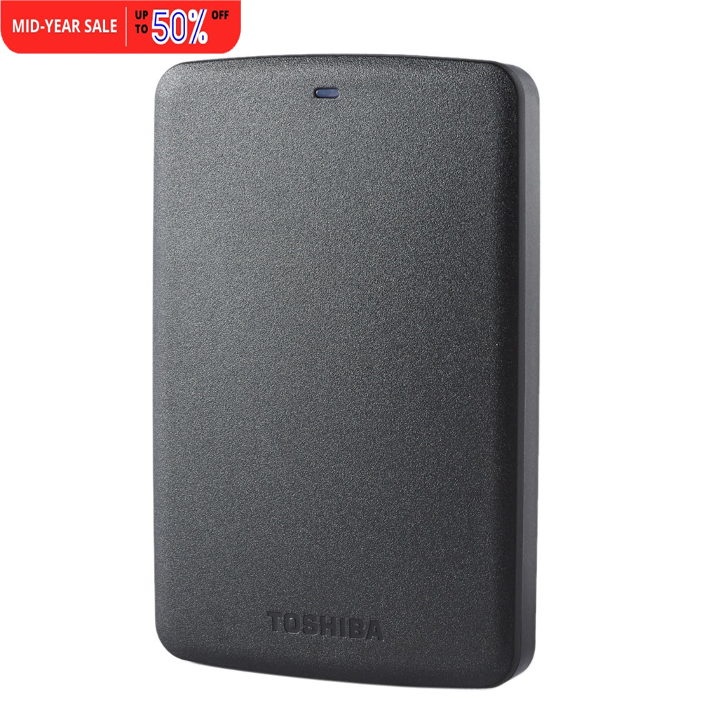 "Toshiba HDD 1TB 2TB Portable External Hard Disk Drive Mobile Canvio Basics USB 3.0 2.5"" HDTB320YK3CA For Desktop Laptop Computer(China (Mainland))"