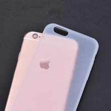 New Arrival 0.3mm Ultra Thin Matte Mobile Phone Fundas Coque for iPhone 4 4S 5 5S SE 6 6S 7 Plus Case Slim Matte Transparent