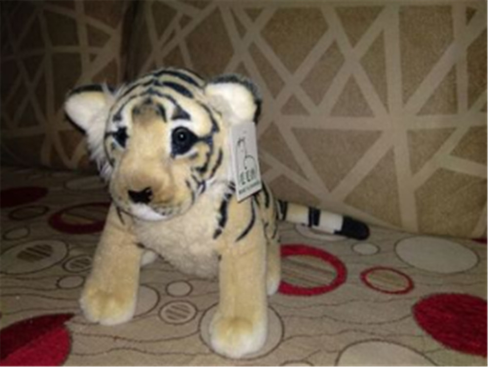 Fancytrader Soft Stuffed Animals Tiger Plush Toys Pillow Simulated Animal Baby Tiger Leopard Doll Brinquedo Toys For Children16