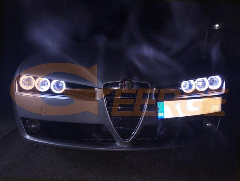 Alfa Romeo 159 cob led angel eyes kit(12)