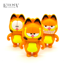 Easy Learning Cartoon Animal Garfield USB Flash Drive USB 2.0 4GB 8GB 16GB 32GB 64GB Memory Stick Pen Drive Flash Card Pendrive
