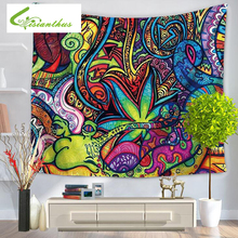 Indian Mandala Tapestry Colorful Wall Hanging Multifunctional Tapestry Boho Print Bedspread Cover Yoga Mat Blanket Picnic Cloth