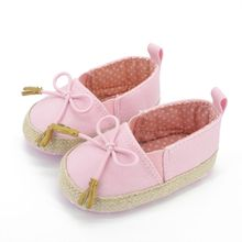 WEIXINBUY Baby Girl Shoes Newborn Toddler Girls Slip-on Soft Baby Shoes Canvas Sneakers Prewalker 0-18M First Walkers(China)