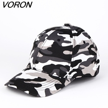 VORON 2017 Wholesale Brand Fitted Hat Baseball Cap Casual Army Camouflage Outdoor Sports Snapback Gorras Polo Hats For Men women(China)