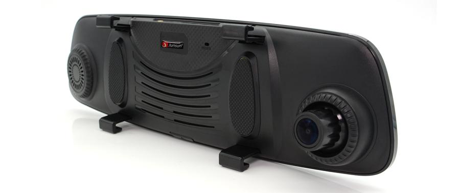 "Junsun 4G ADAS Car DVR Camera Digital Video recorder mirror 7.86"" Android 5.1 with two cameras dash cam Registrar black box 16GB 57"
