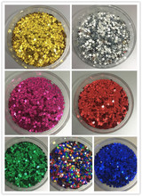 10000pcs(50g) 4mm Star Shape Loose Sequins 7 Colors Glitter Paillette Sewing,Wedding Craft DIY Garment Accessorie Nail Beauty
