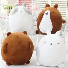 1pcs 25cm super cute rabbit molang potatoes bear plush toy doll, female valentines day gifts molang rabbit plush toy teddy bear(China)